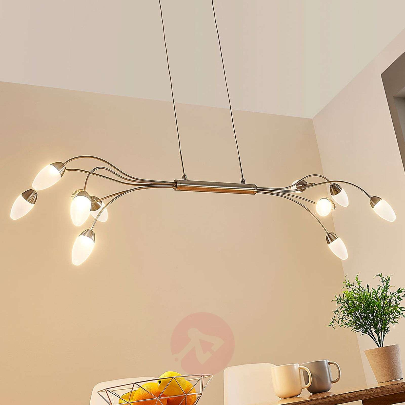 Led LampesDimmable 10 À Deyan Suspension YIWHD2E9