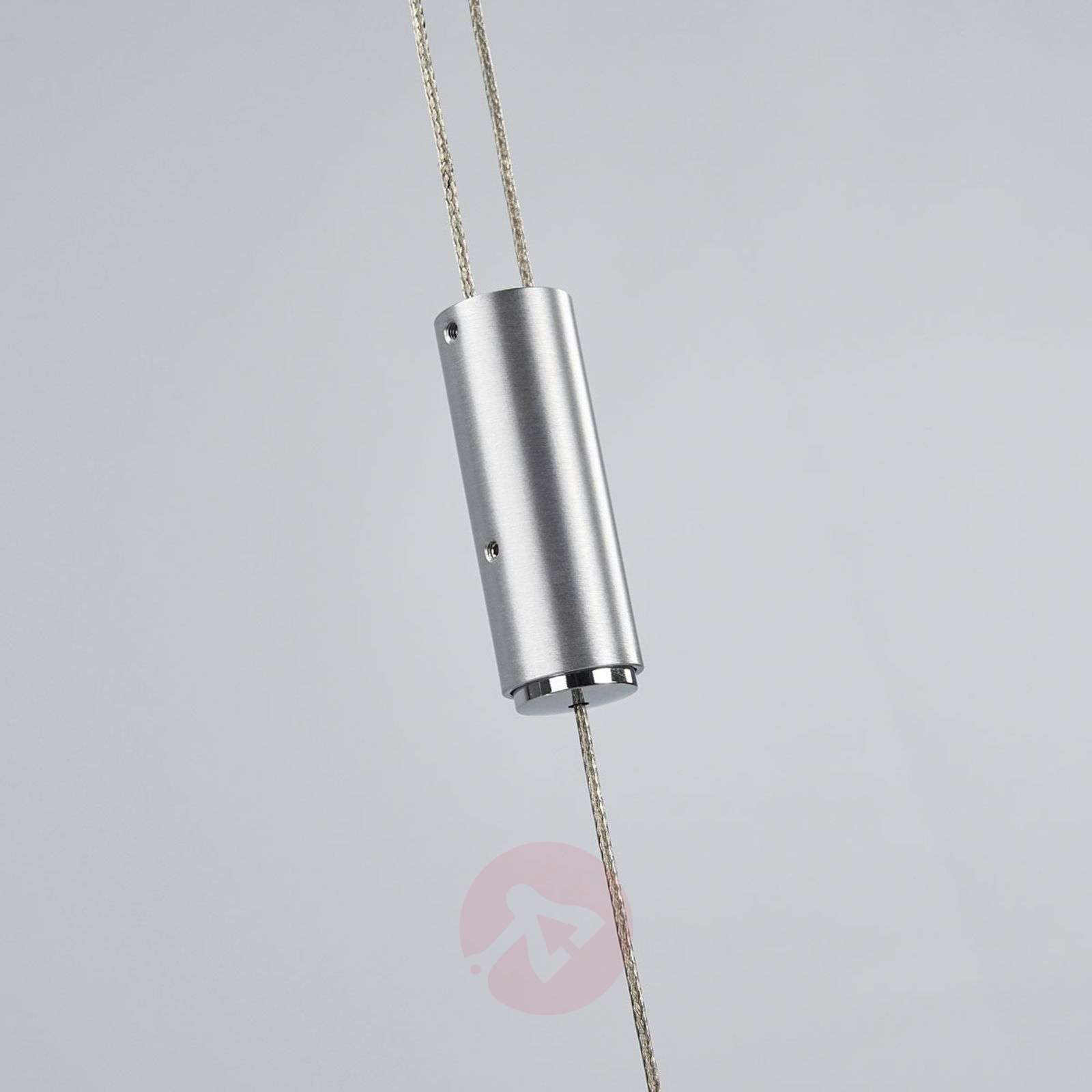 Suspension LED dimmable Lian en aluminium mat-6722420-04