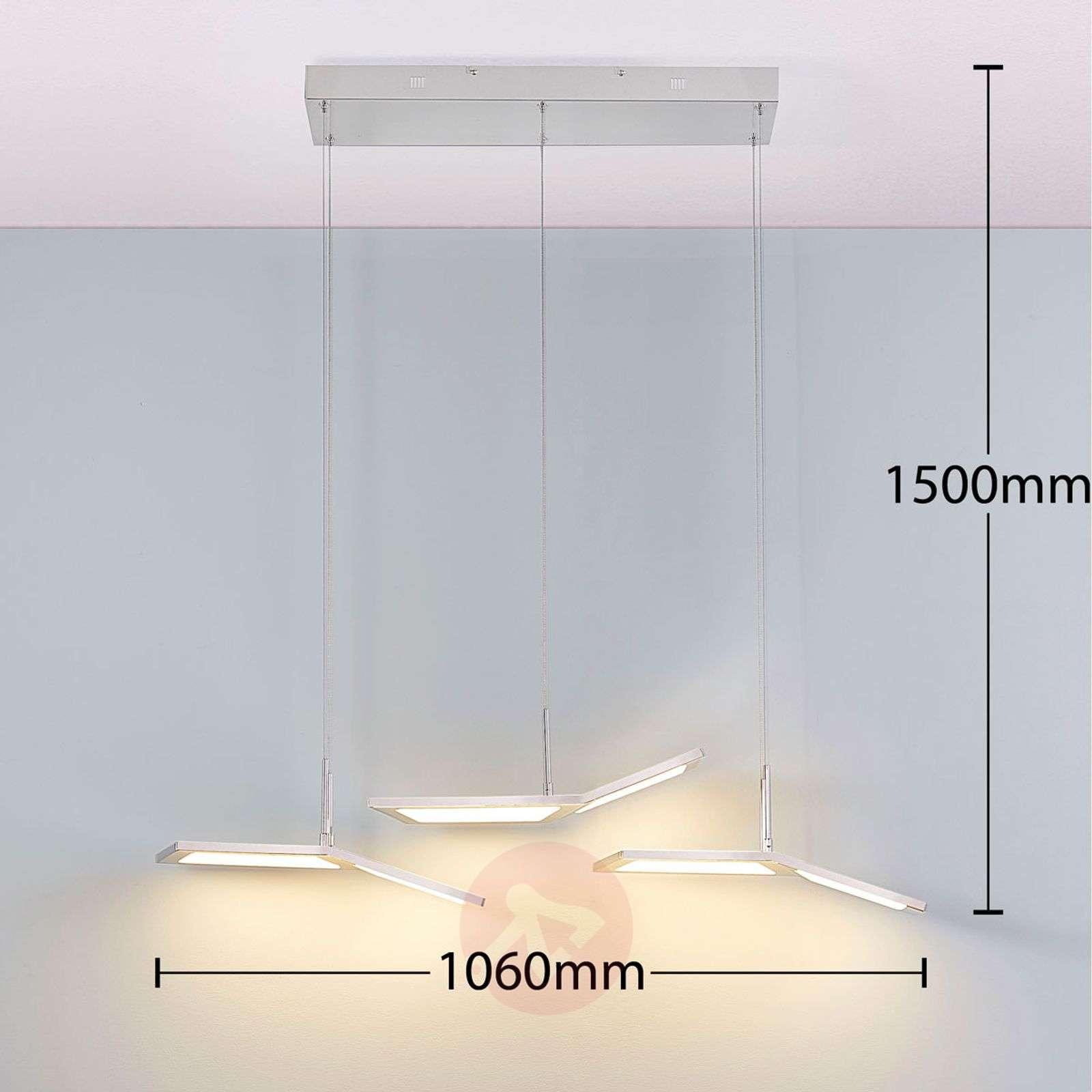 Suspension LED dimmable Luciano-9621429-01