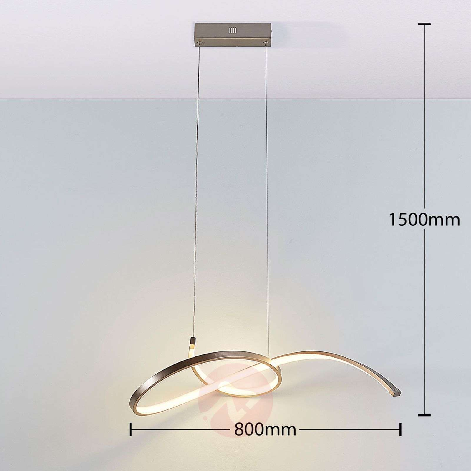 Suspension LED filigrane Dominykas-9621425-01