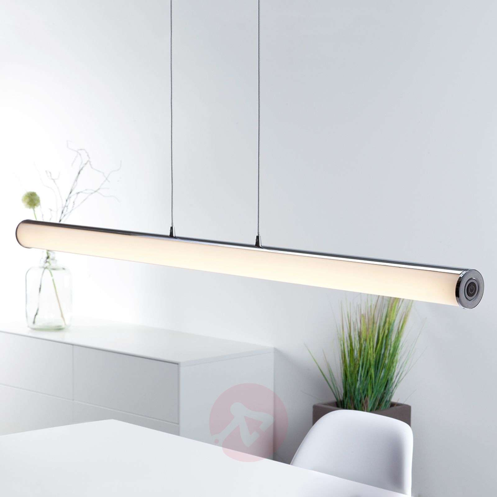 Suspension LED Tube au design minimaliste-1508960-02