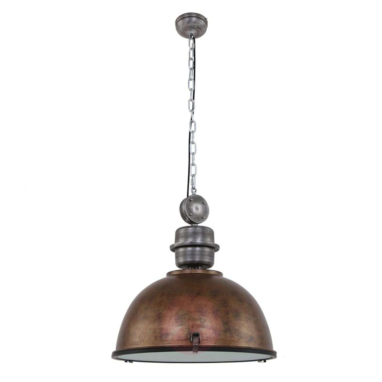 Suspension Marron En Industriel Xxl Design Bikkel fvgmIYb76y