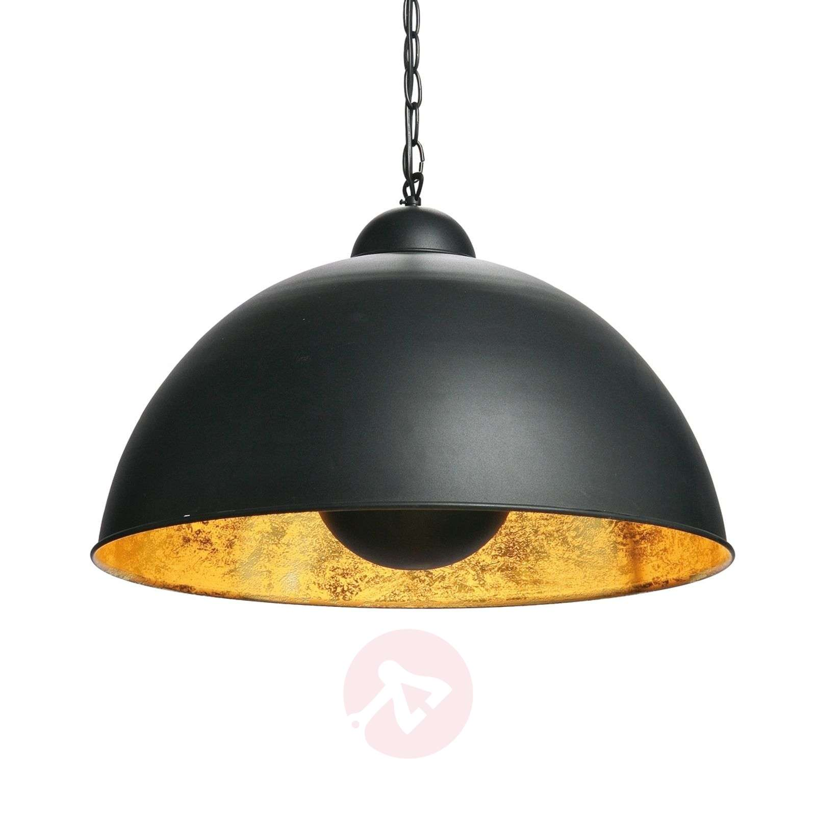 Suspension noire et or dottore for Suspension luminaire noir et or