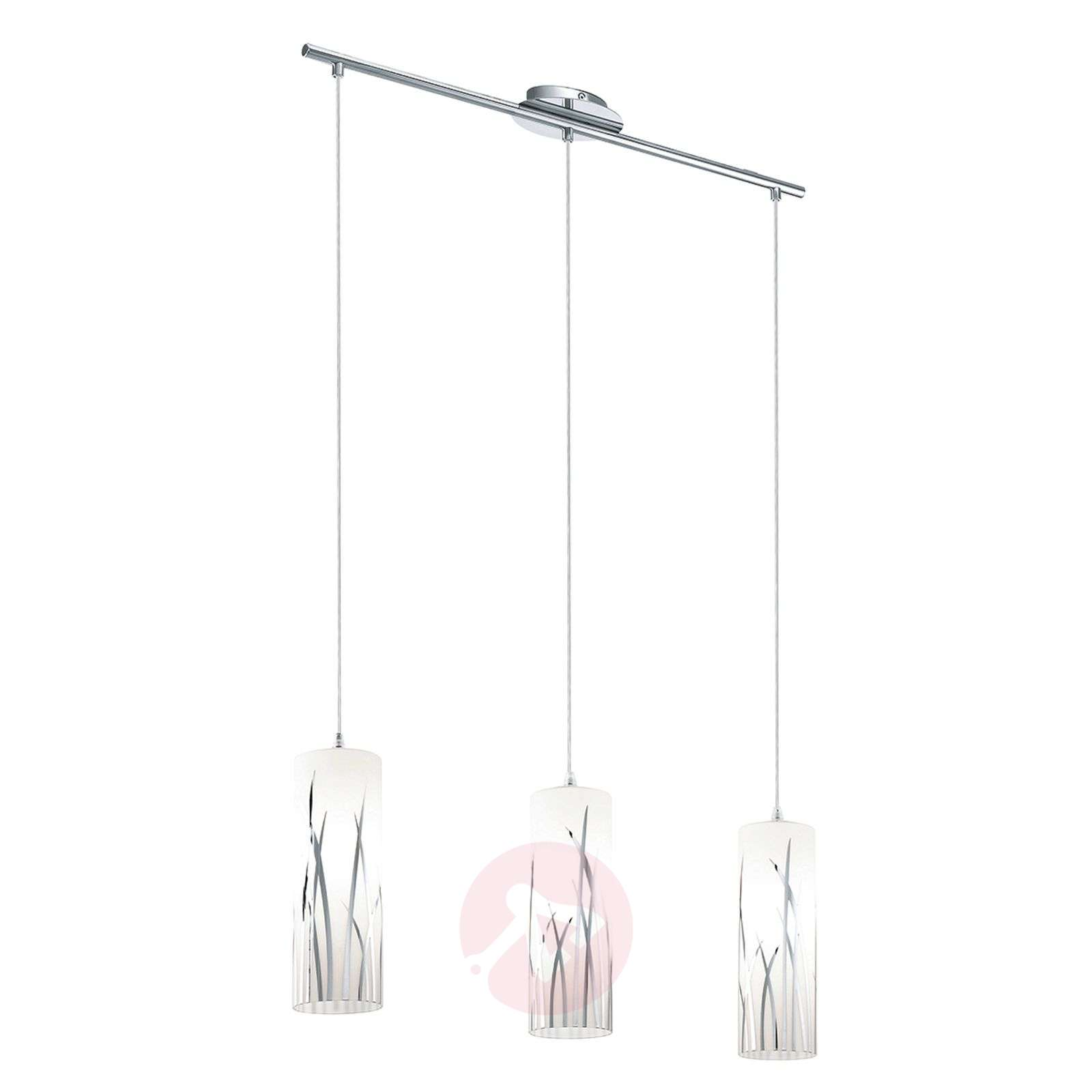 Suspension rivato 3 lampes d cor d herbes for Suspension trois lampes