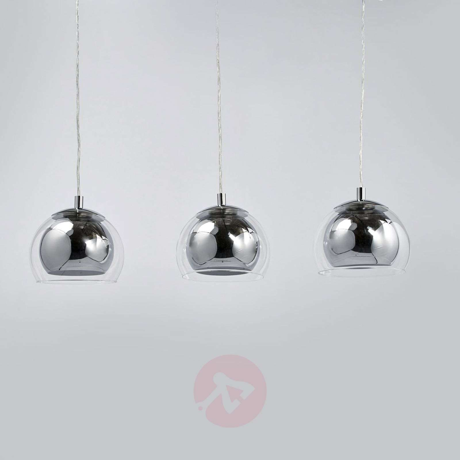 Suspension rocamar 3 lampes for Suspension trois lampes