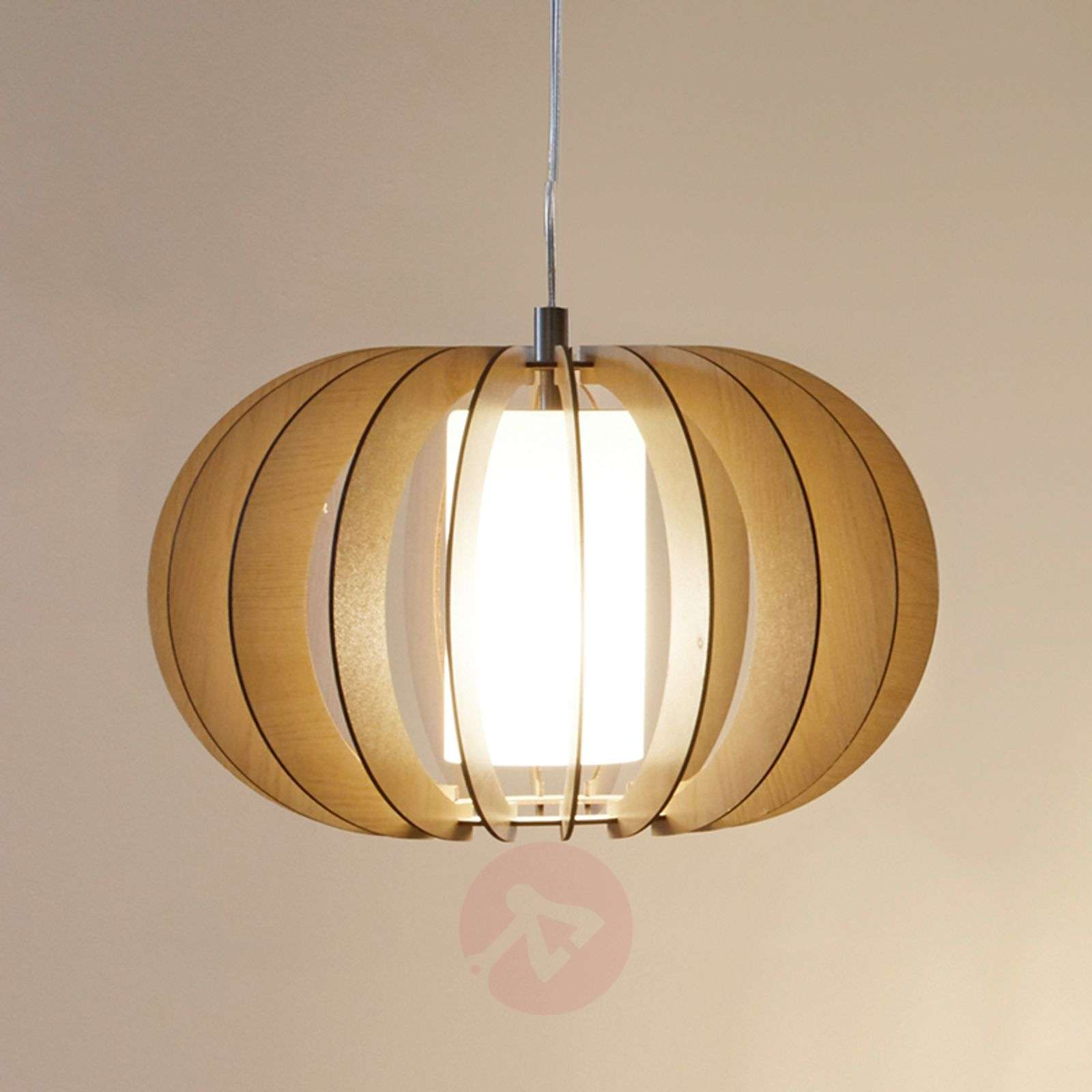 Suspension Stellato en bois brun, 40 cm