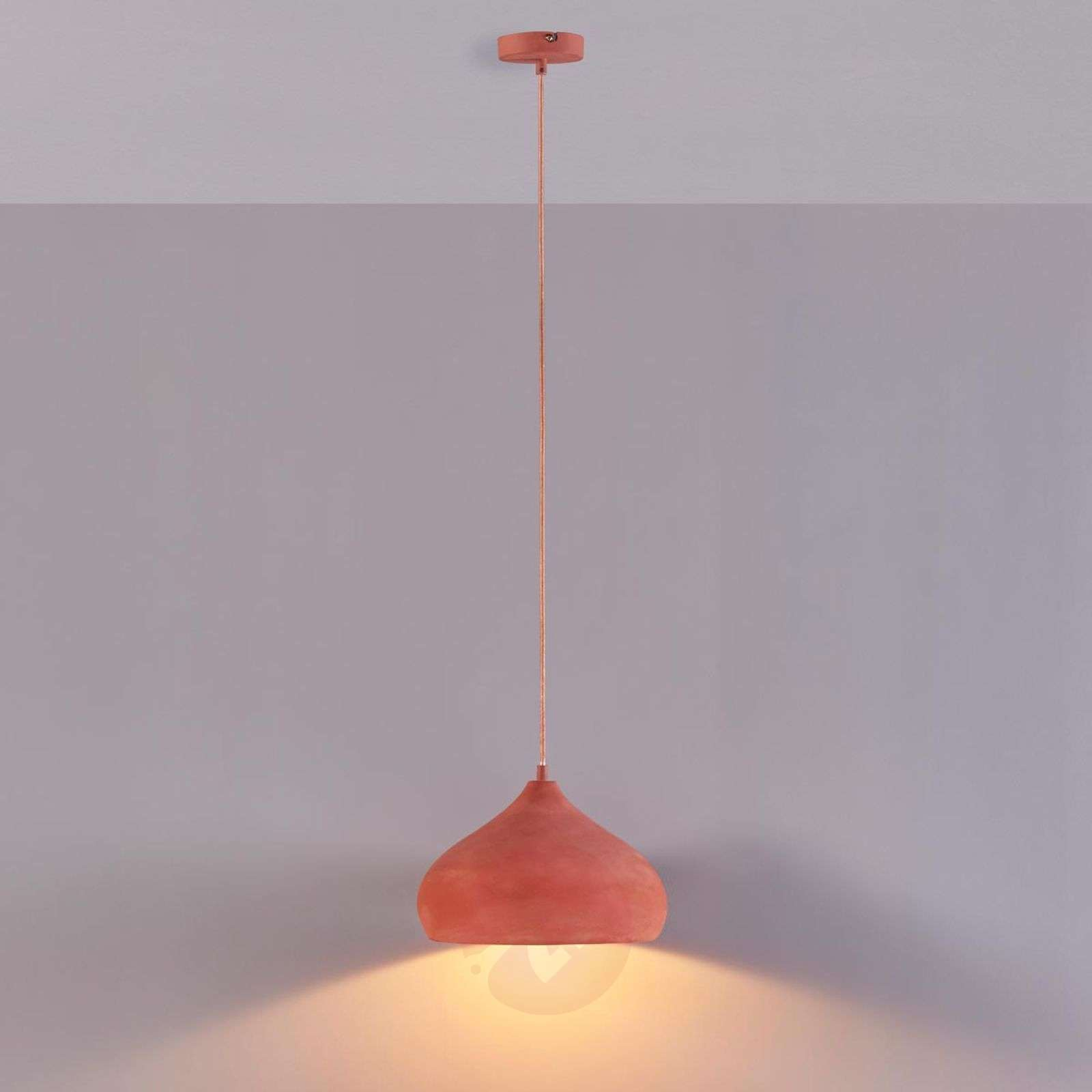 Suspension terracotta Fiona de forme esthétique-9620739-04
