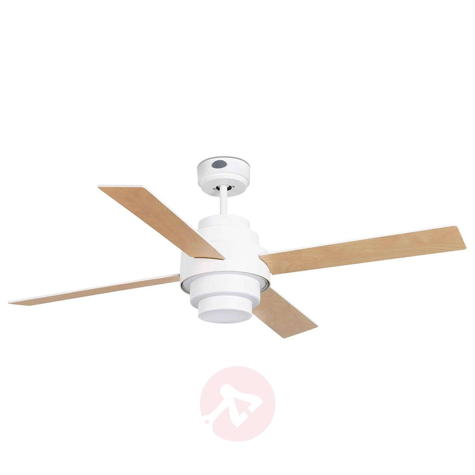 Ventilateur de plafond efficace Disc avec LED