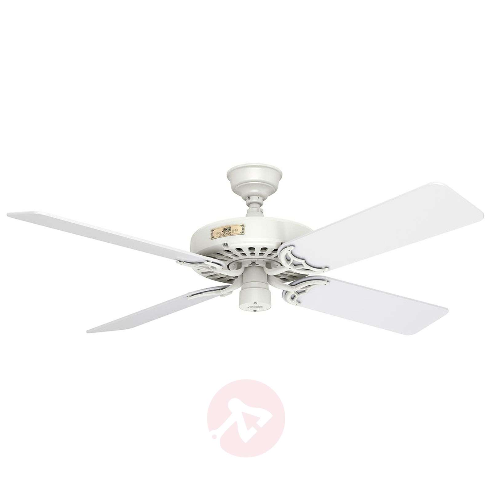Ventilateur de plafond hunter original blanc - Ventilateur de plafond silencieux hunter ...