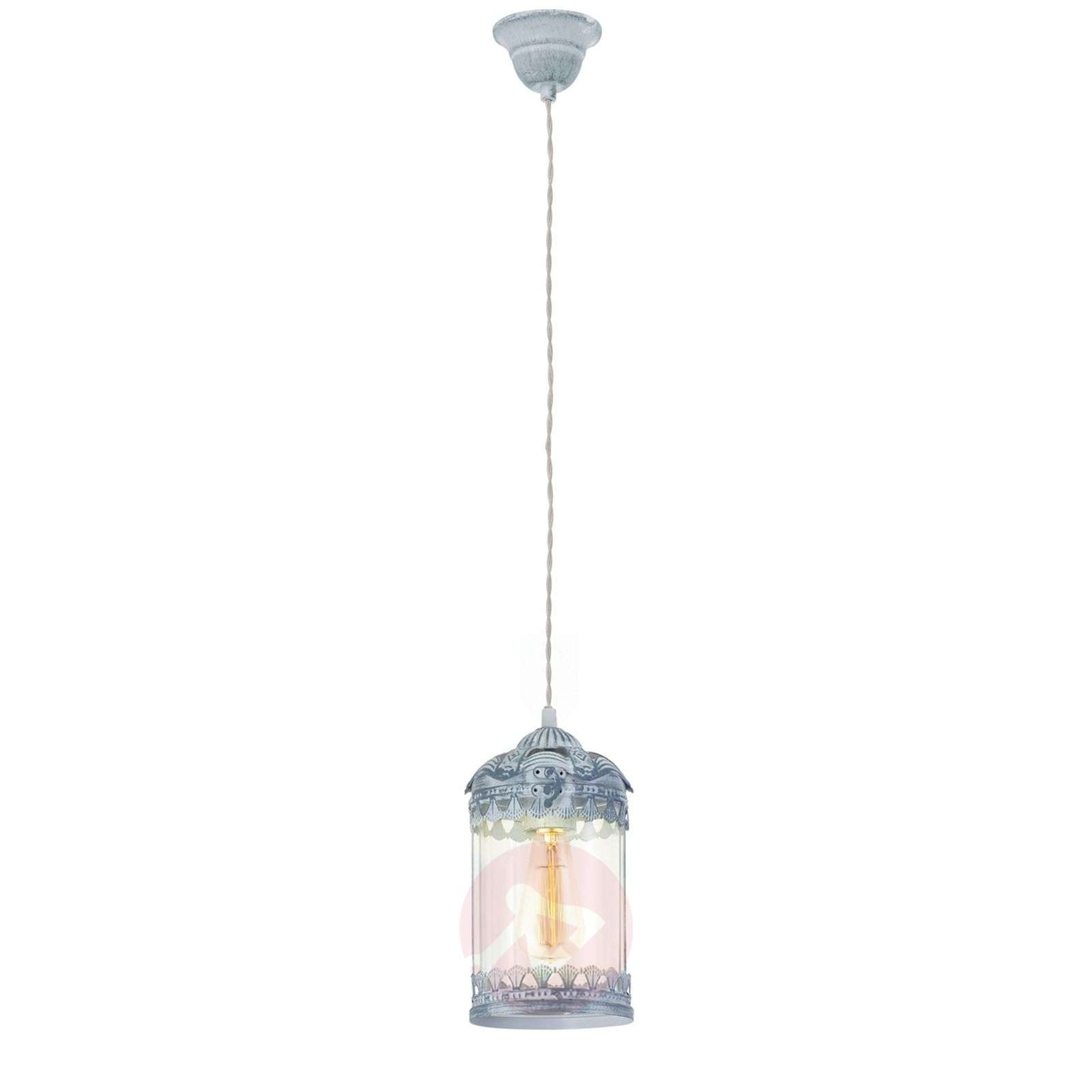 Vintage 2 une suspension en gris-bleu-3031588-01