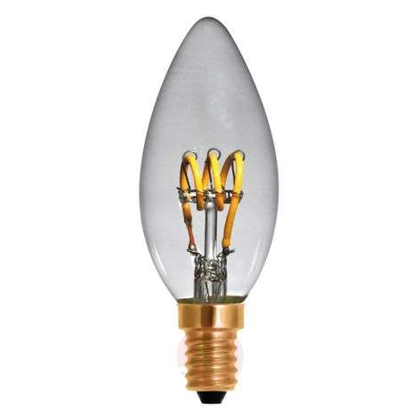 Ampoule flamme LED E14 2,7W 922 Curved Line
