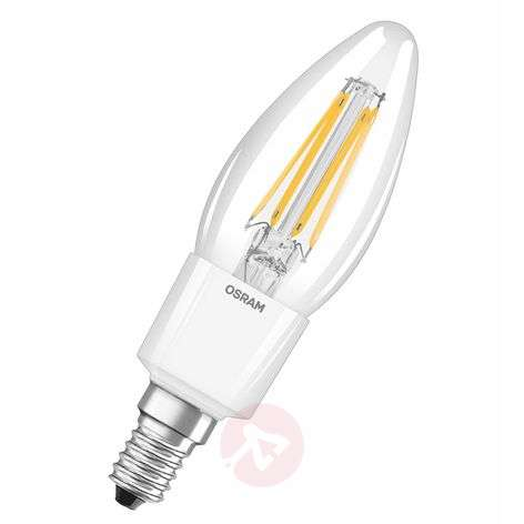 Ampoule flamme LED E14 4,5W 827 Retrofit variable