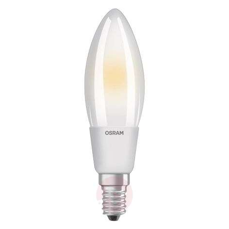 Ampoule flamme LED E14 6 W, blanc chaud, dimmable