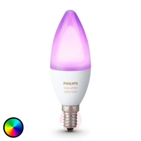 Ampoule flamme Philips HUE White Ambiance E14 6 W