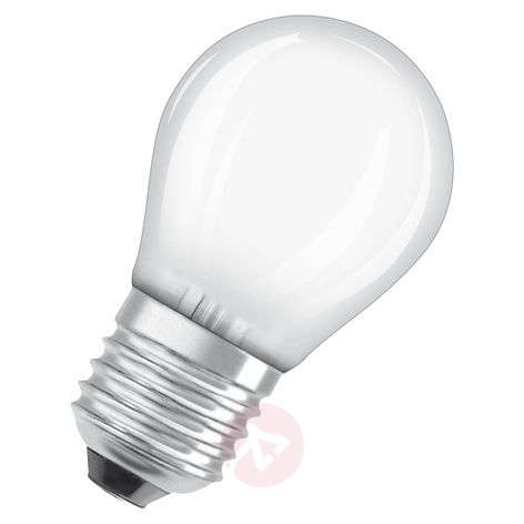 Ampoule goutte LED E27 3,2W, blanc chaud, dimmable