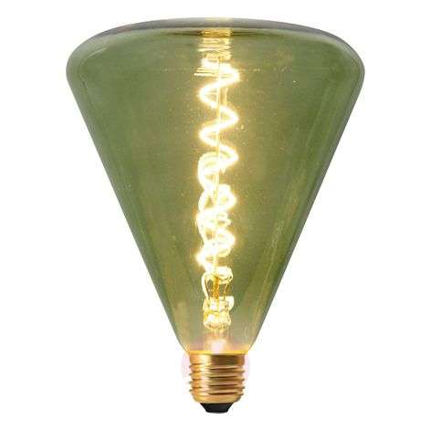 Ampoule LED Dilly E27 4 W 2 200 K dimmable, verte