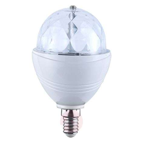 Ampoule LED E14 3W « Disco » 120°