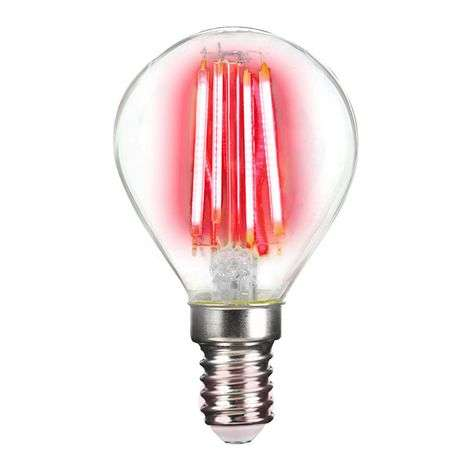 Ampoule LED E14 4 W filament, coloré