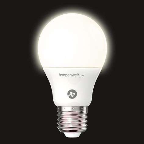 Ampoule LED E27 7,5 W 827 mate