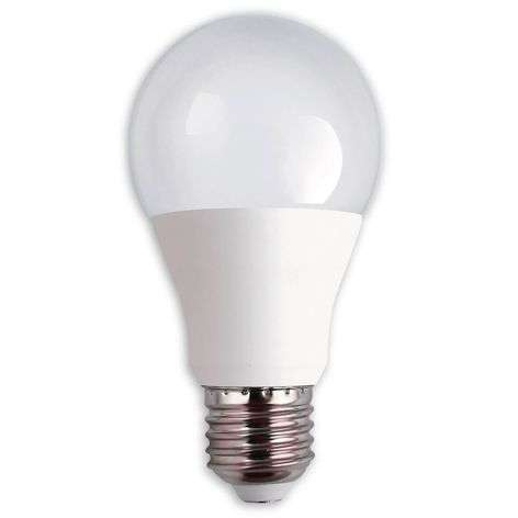 Ampoule LED E27 9 W, blanc chaud, natural dimming