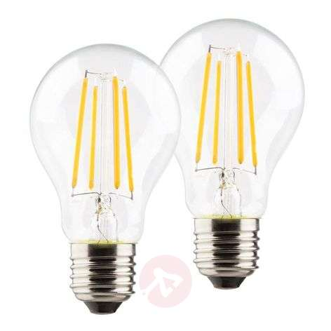 Ampoule LED E27 A60 rétro 6W 2 700 K lot de 2