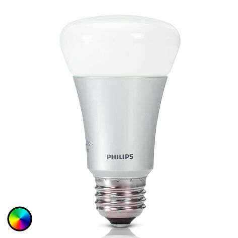 Ampoule Philips Hue White + Color Ambiance E27 10W
