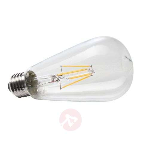 Ampoule rustique LED à filament E27 6W 827