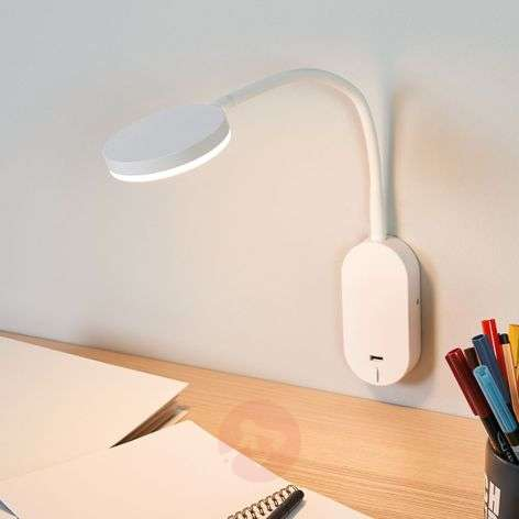 Applique LED avec bras flexible Milow, USB-9643030-31