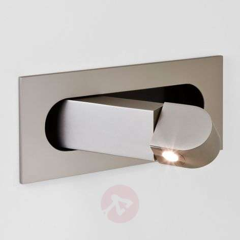 Applique LED Digit comme liseuse, nickel-1020476-34