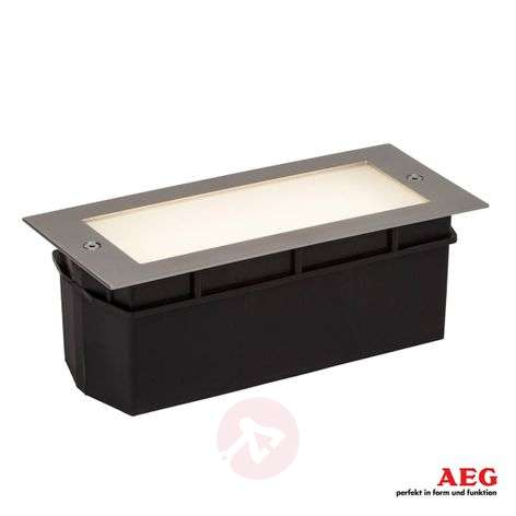 Applique LED encastrable Wall avec verre satiné