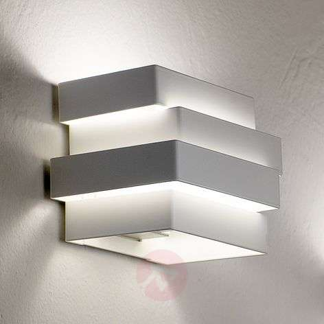 Applique LED Escape Cube blanche