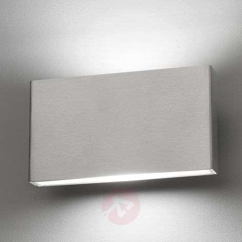 Applique LED Kaula en inox, IP44