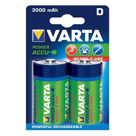 Batteries mono D / 56720, 1,2 V, 3000 m/Ah