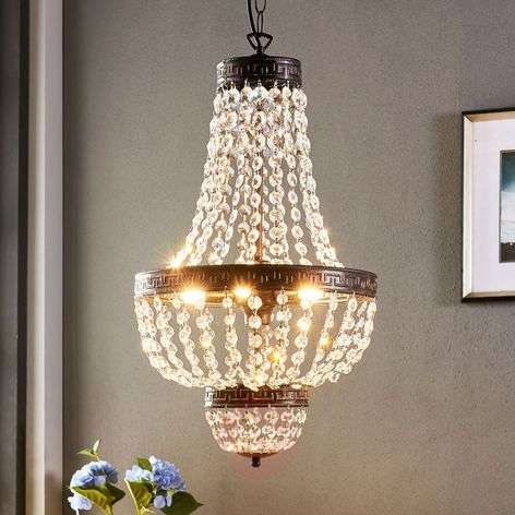 Belle suspension Jorbe avec du cristal-9621227-32