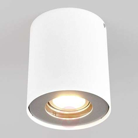 Downlight LED Giliano à 1 lampe, rond, blanc