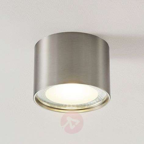 Downlight LED Meera, rond, nickel satiné