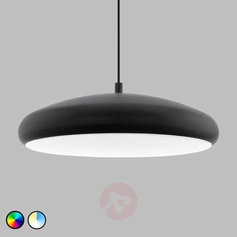 EGLO connect Riodeva-C suspension LED noire