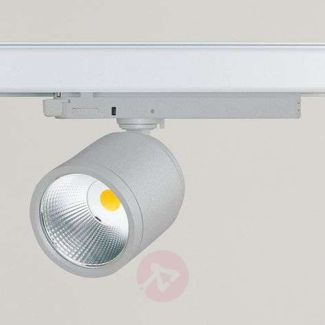 GA 017 Casa spot LED rail triphasé argent