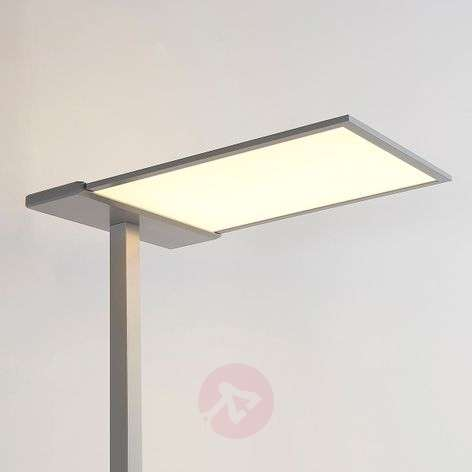 Lampadaire LED Office Esmael, variateur 36W+20W