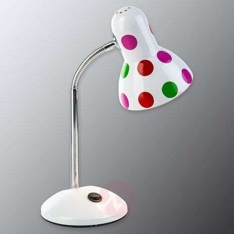 Lampe à poser à pois colorés Pointer