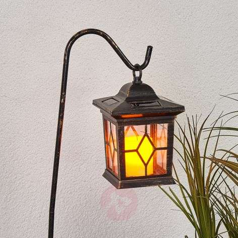Lanterne solaire LED décorative Beata en set