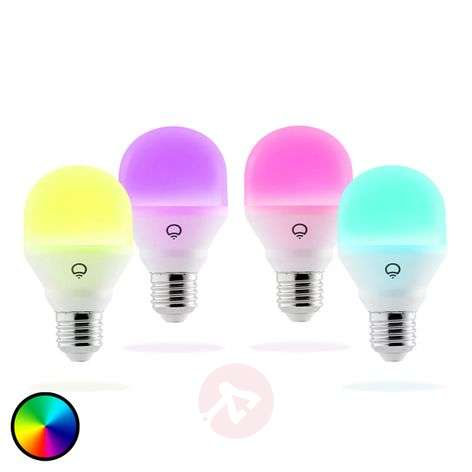 LIFX Mini Color ampoule LED E27 9 W, par 4
