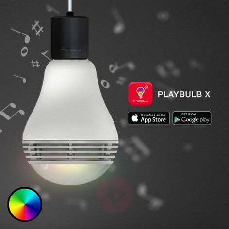 MiPow Playbulb Color ampoule LED E27 enceinte