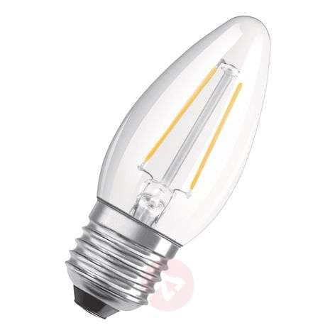 OSRAM ampoule flamme LED E27 5W bc dimmable transp