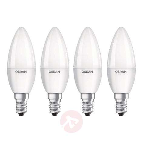 OSRAM bougie LED E14 Base Retro 5,7W lot de 4