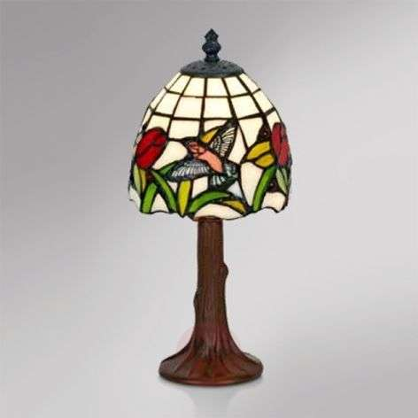 Petite lampe à poser Lesly style Tiffany-1032265-31
