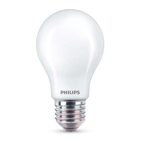 Philips Classic LED E27 A60 4,5 W mate 4 000 K