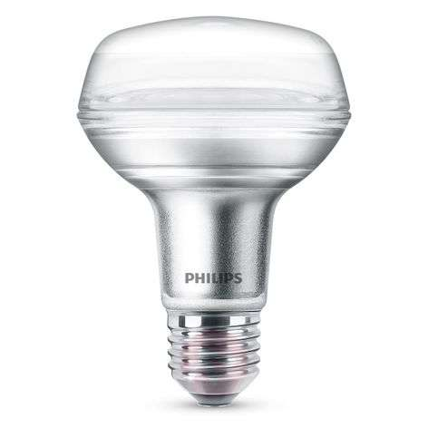 Philips E27 4 W 827 réflecteur LED R80