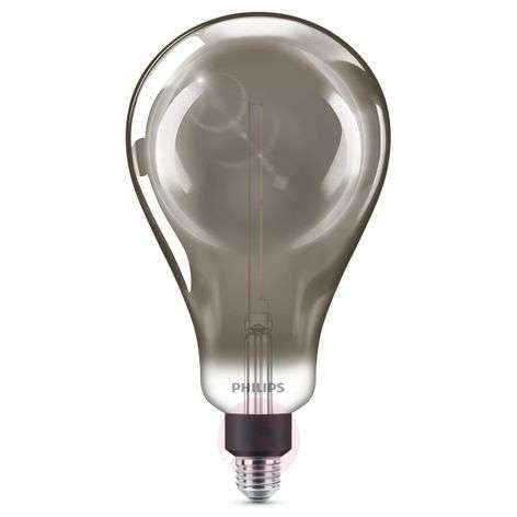 Philips E27 Giant ampoule LED 6,5W dimmable smoky