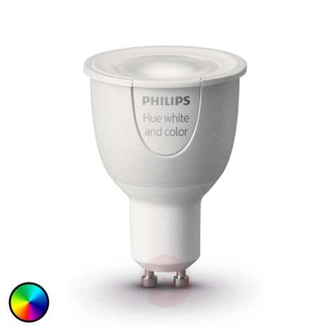 Philips Hue GU10 White + Color Ambiance 6,5W-7531679-33